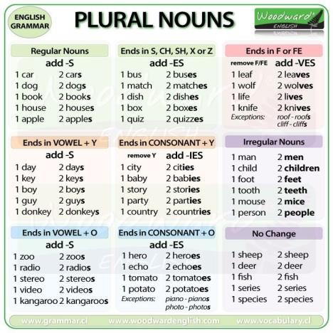 until we meet again singular and plural nouns